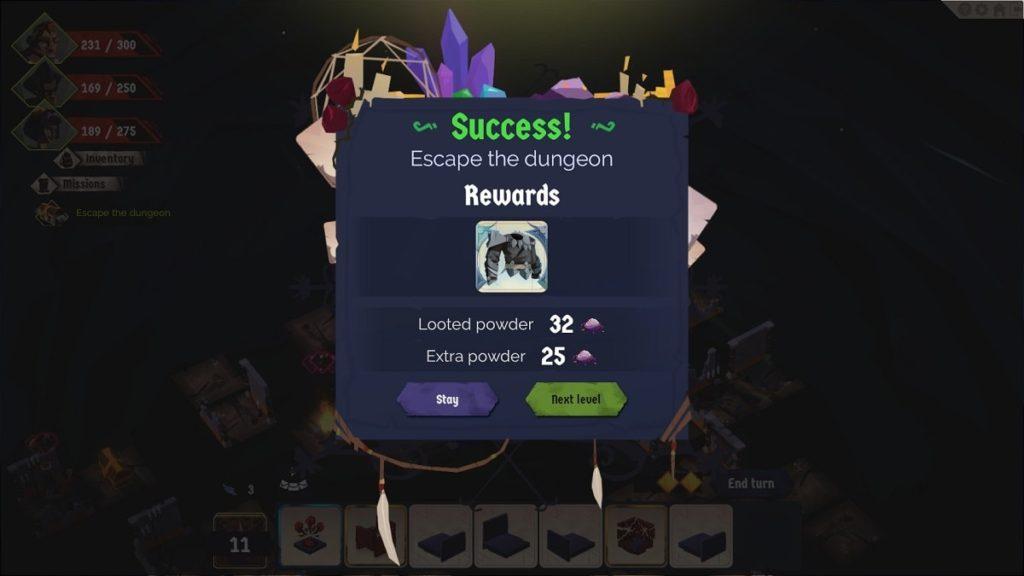 A Long Way Down Rewards