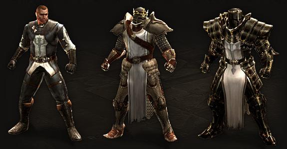 Crusader's Armor Progression