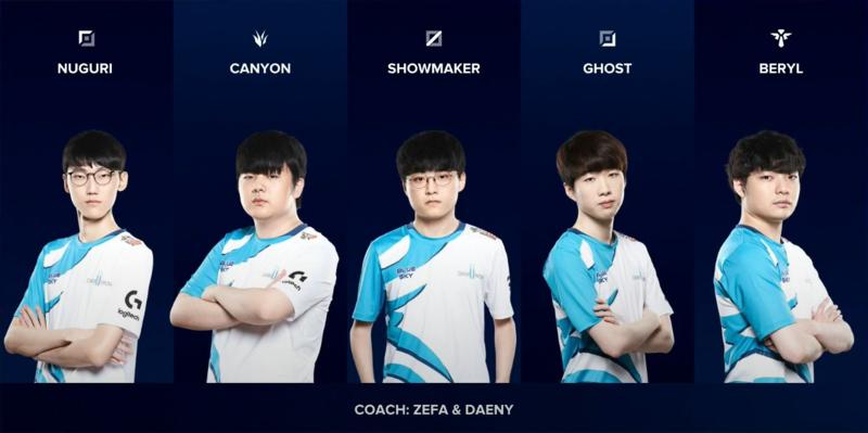 Damwon Gaming roster