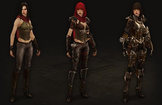 Demon Hunter Equipment Progression