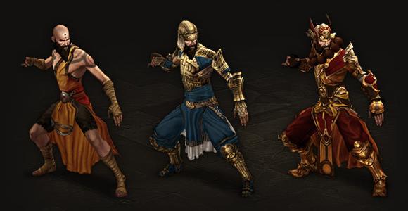 Monk Armor Progression