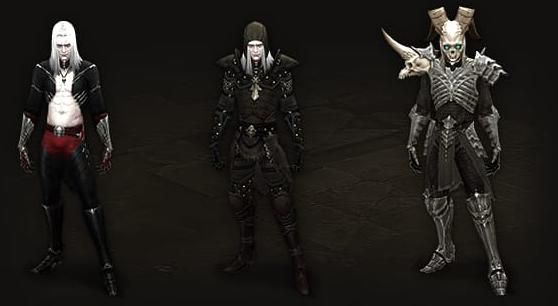 Necromancer Armor Progression
