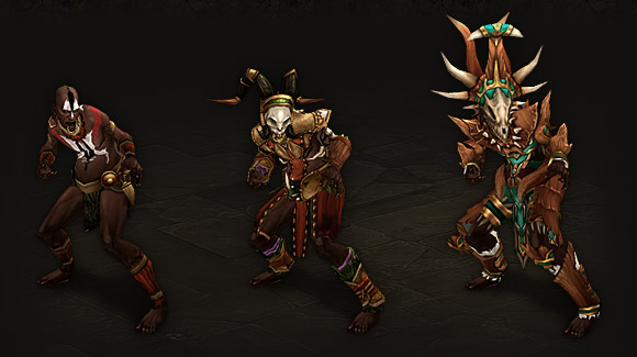 Witch Doctor Armor Progression