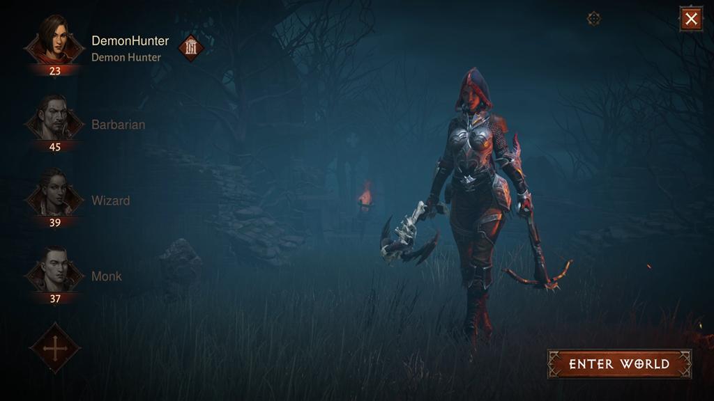 Alpha Announce Demon Hunter Female Character Select