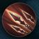 Barbarian ancient spear