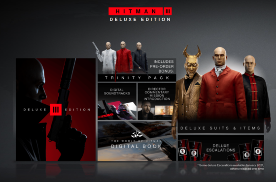 HITMAN 3 Launch Trailer and Release Date