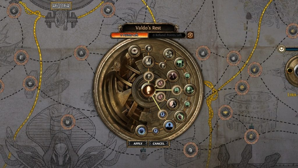 Path of Exile Echoes of the Atlas Skill Tree