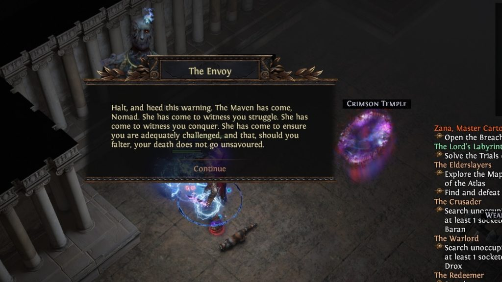 Path of Exile Echoes of the Atlas The Envoy