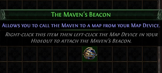 Path of Exile Echoes of the Atlas The Maven's Beacon