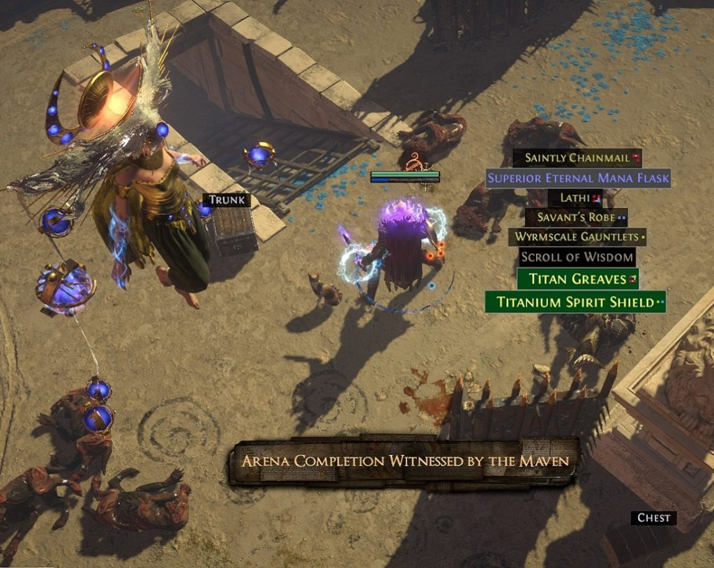 Path of Exile Echoes of the Atlas The Maven's Witness