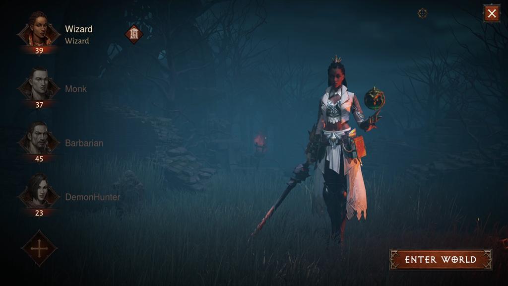 Wizard Diablo Immortal