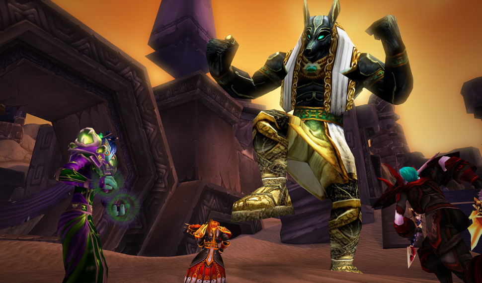 World of Warcraft Call of the Scarab Event 2021