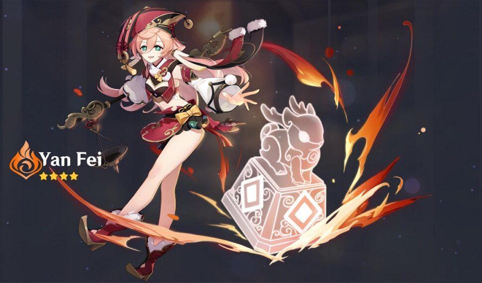 Genshin Impact Yanfei Build and Best Team Comp