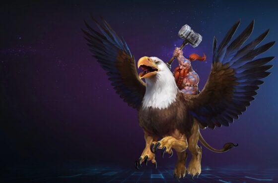 Heroes of the Storm Falstad Build Guide