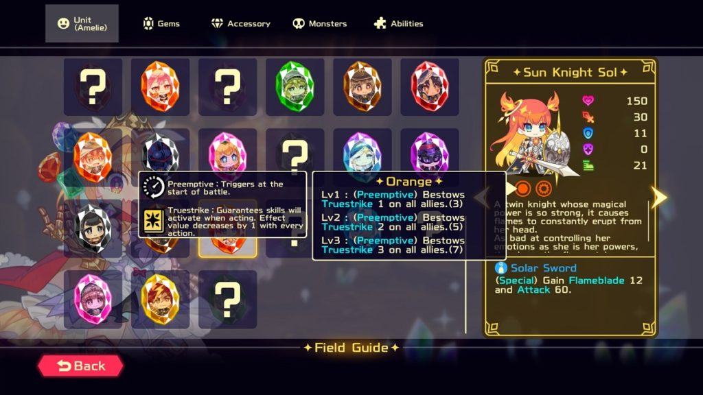 Vivid Knight Field Guide