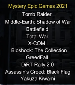 mystery games leaks