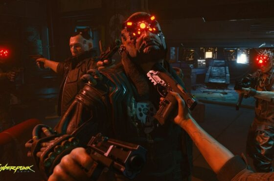 Cyberpunk 2077 Shooter Build