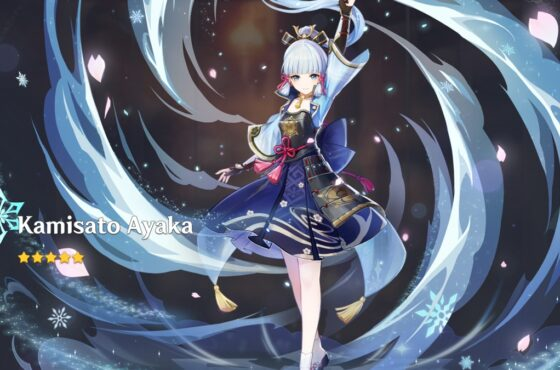 Genshin Impact Ayaka Build and Best Team Comp