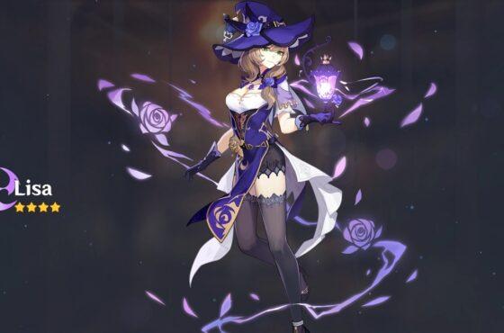 Genshin Impact Lisa Build and Best Team Comp