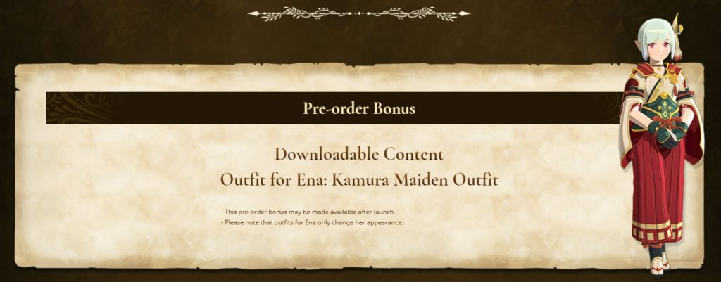Monster Hunter Stories 2 pre-order bonus