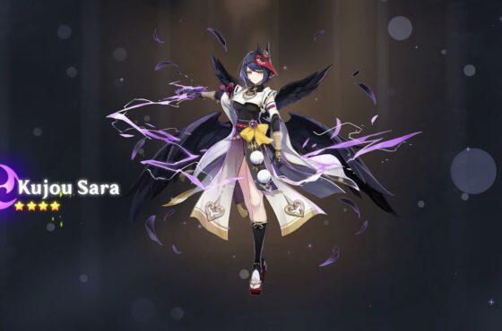Genshin Impact Sara Build and Best Team Comp