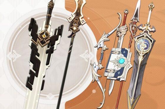 Genshin Impact Top Tier Weapons