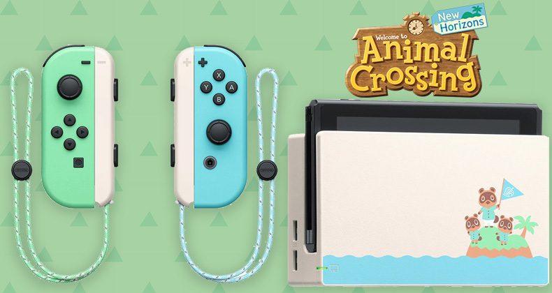 Nintendo Switch - Animal Crossing New Horizons Edition